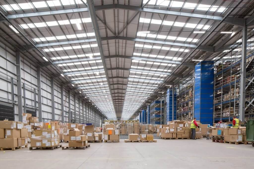 ASOS warehouse managed by XPO Logistics